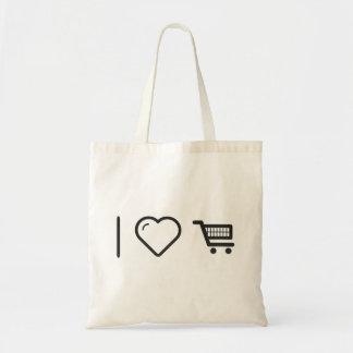 Procedimientos frescos del comercio electrónico bolsa tela barata