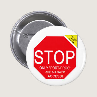 Proceed With CAUTION! Button