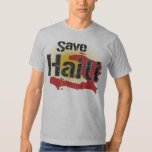 Proceeds go to RED CROSS - Save Haiti - T Shirt