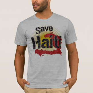 Proceeds go to RED CROSS - Save Haiti - T-Shirt