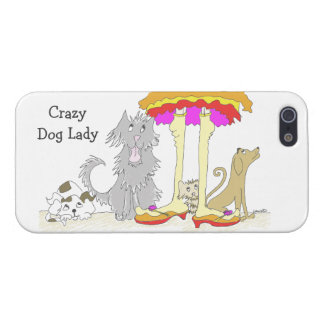 Proceeds to Animal Charity Crazy Dog Lady iPhone SE/5/5s Case