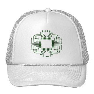 Procesador eléctrico de la placa de circuito gorra
