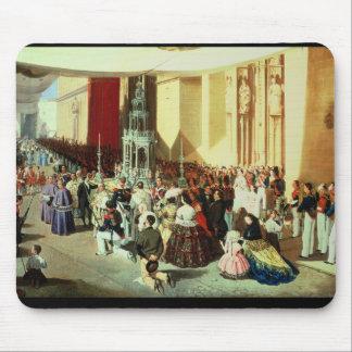 Procesión de Corpus Christi en Sevilla Mousepad