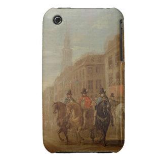 Procesión de la restauración de Charles II en Chea iPhone 3 Carcasas
