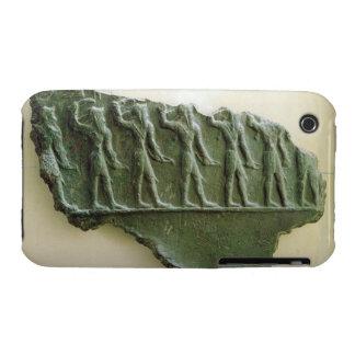 Procesión de los guerreros de Elamite, Susa, Irán, Carcasa Para iPhone 3