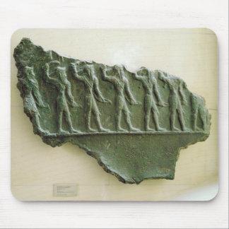 Procesión de los guerreros de Elamite, Susa, Irán, Tapete De Raton