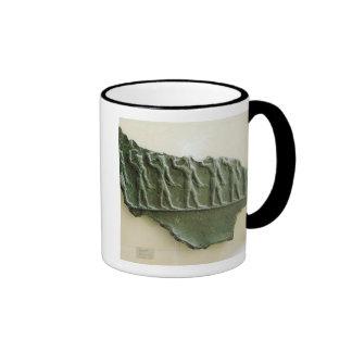 Procesión de los guerreros de Elamite, Susa, Irán, Tazas De Café