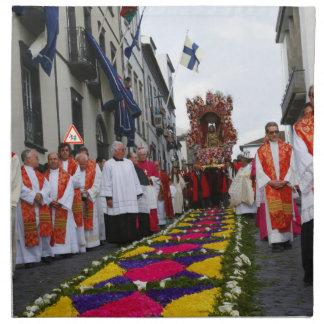 Procesión de Santo Cristo Servilleta De Papel
