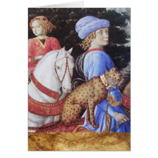 Procesión de uno de los reyes magos Melchior/de lo Tarjeta De Felicitación