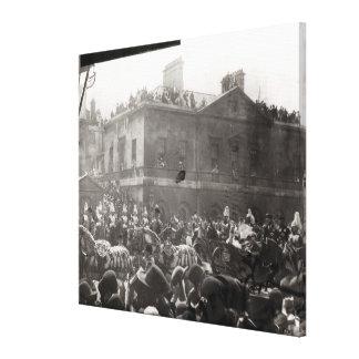 Procesión del jubileo en Whitehall, 1887 Impresiones En Lona Estiradas