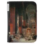 Procesión en la catedral de Sevilla, 1833 (aceite