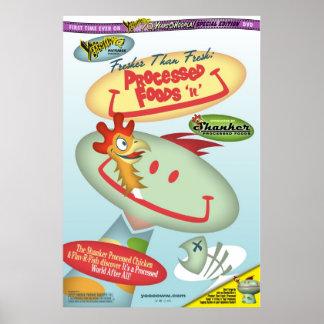 Processed Foods 'n' U Poster