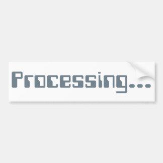 Processing Bumper Sticker