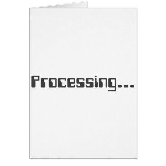 Processing Card