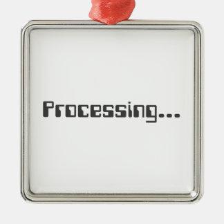 Processing Metal Ornament