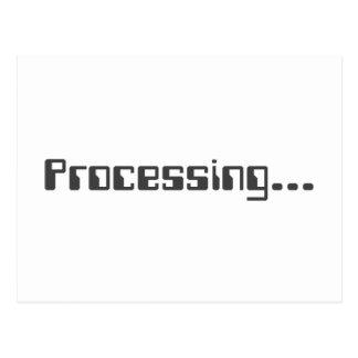 Processing Postcard