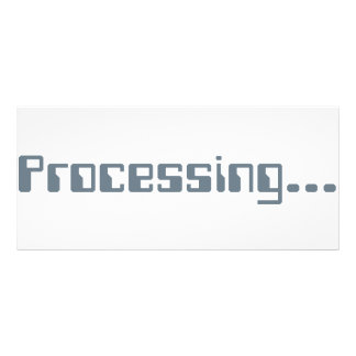 Processing Rack Card