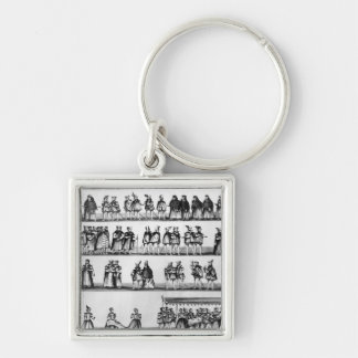 Procession at the Christening of Prince Arthur Keychain