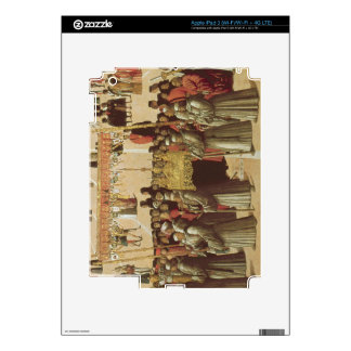 Procession in the St. Mark's Square, detail of the iPad 3 Skins