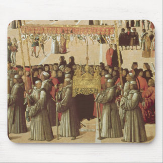Procession in the St. Mark's Square, detail of the Mouse Pad