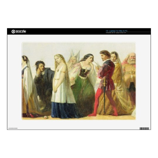 Procession of characters from Shakespeare (oil on Decals For Laptops