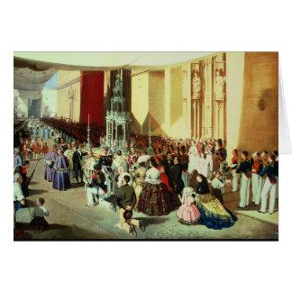 Procession of Corpus Christi in Seville Card