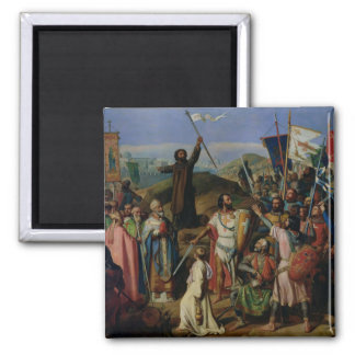 Procession of Crusaders around Jerusalem Magnet