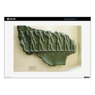 Procession of Elamite warriors, Susa, Iran, Elamit Decal For Laptop