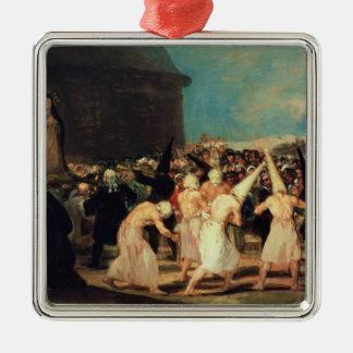 Procession of Flagellants, 1815-19 Metal Ornament
