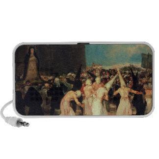 Procession of Flagellants 1815-19 Laptop Speakers