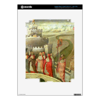 Procession of St. Gregory to the Castel St. Angelo iPad 3 Skin