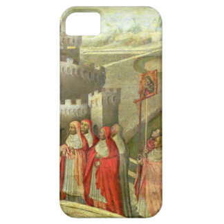 Procession of St. Gregory to the Castel St. Angelo iPhone SE/5/5s Case