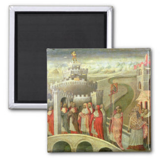 Procession of St. Gregory to the Castel St. Angelo Magnet