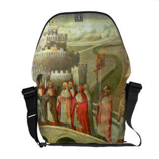 Procession of St. Gregory to the Castel St. Angelo Courier Bag
