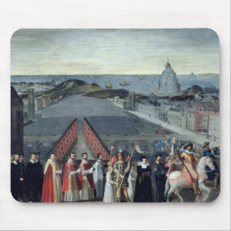 Procession of the Brotherhood of Saint-Michel Mouse Pad