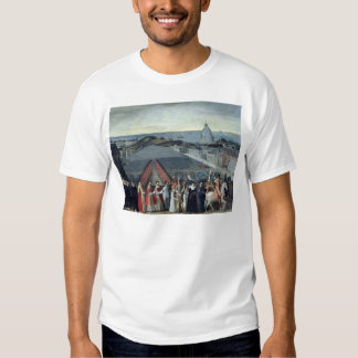 Procession of the Brotherhood of Saint-Michel T Shirt