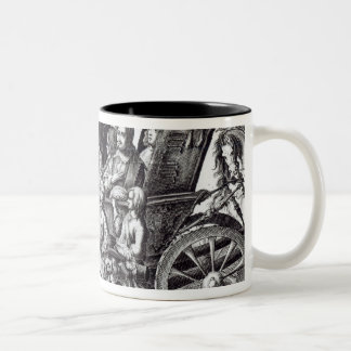 Procession of the entry Two-Tone coffee mug