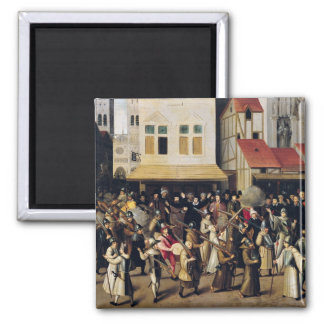Procession of the Holy League in 1590 Magnet