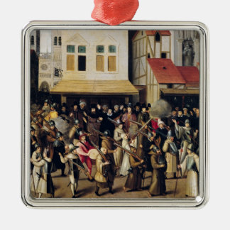 Procession of the Holy League in 1590 Metal Ornament