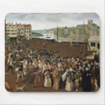 Procession of the Holy League Mouse Pad