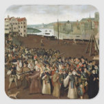 Procession of the Holy League Square Sticker