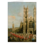 Procession of the Knights of the Bath Greeting Cards