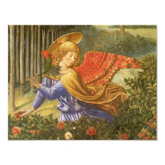 Procession of the Magi, Renaissance Angel Art Card
