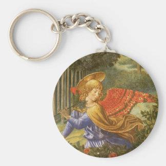 Procession of the Magi, Renaissance Angel Art Keychain
