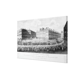 Procession of the Opening of the Estates Canvas Print