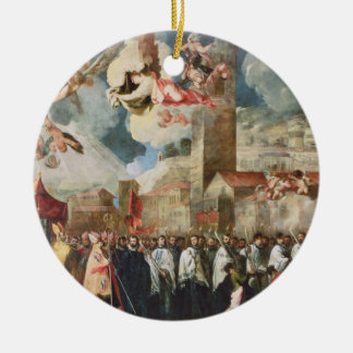 Procession of the Relics of the Holy Brescian Bish Ceramic Ornament