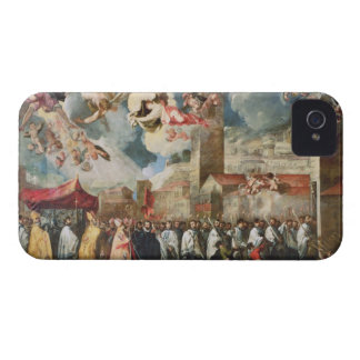 Procession of the Relics of the Holy Brescian Bish iPhone 4 Case-Mate Case