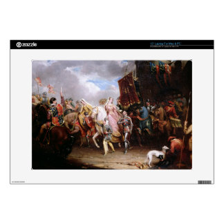 """Procession to the Roiall Justs Holden in Smithfiel Decal For 15"""" Laptop"""