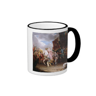Procession to the Roiall Justs Holden in Smithfiel Mug