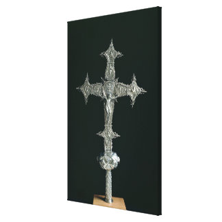 Processional cross canvas print
